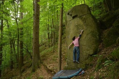 Bouldering v Južných Čechách (2.časť)