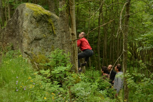 Bouldering v Južných Čechách (4.časť)