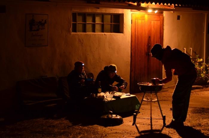 Jeden z bilančných večerov (foto: Oli)