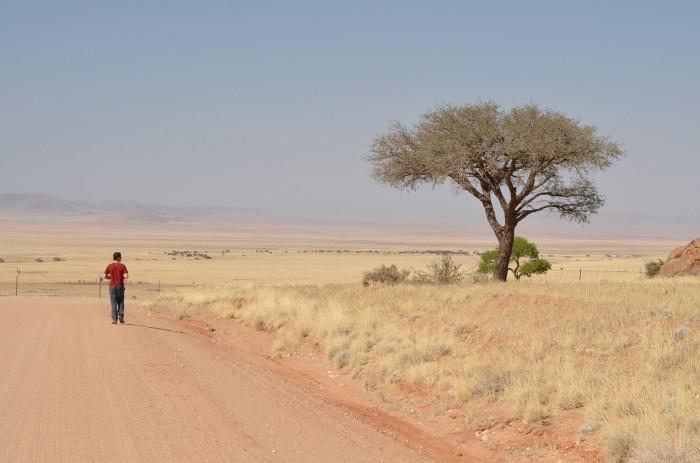 Cesty v Namíbii (foto: Oli)