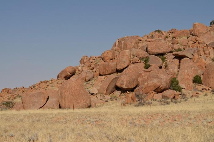 Bouldrový potenciál v Namíbii (foto: Oli)