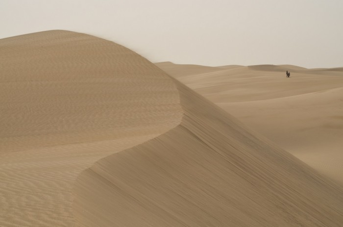 Pieskové duny pri Maspalomas (foto: Oli)