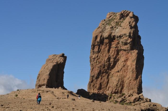 Roque Nublo, symbol Gran Canarie, mohutný monolit bohatý duchom (foto: Oli)