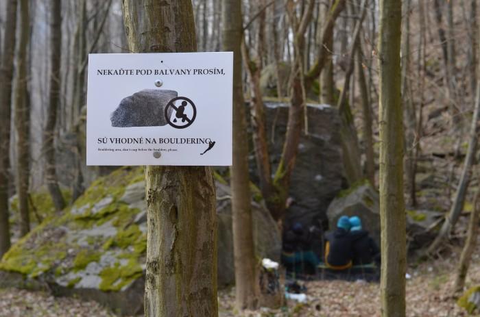 To by ste neverili, balvany sú vhodné na bouldering (foto: Oli)