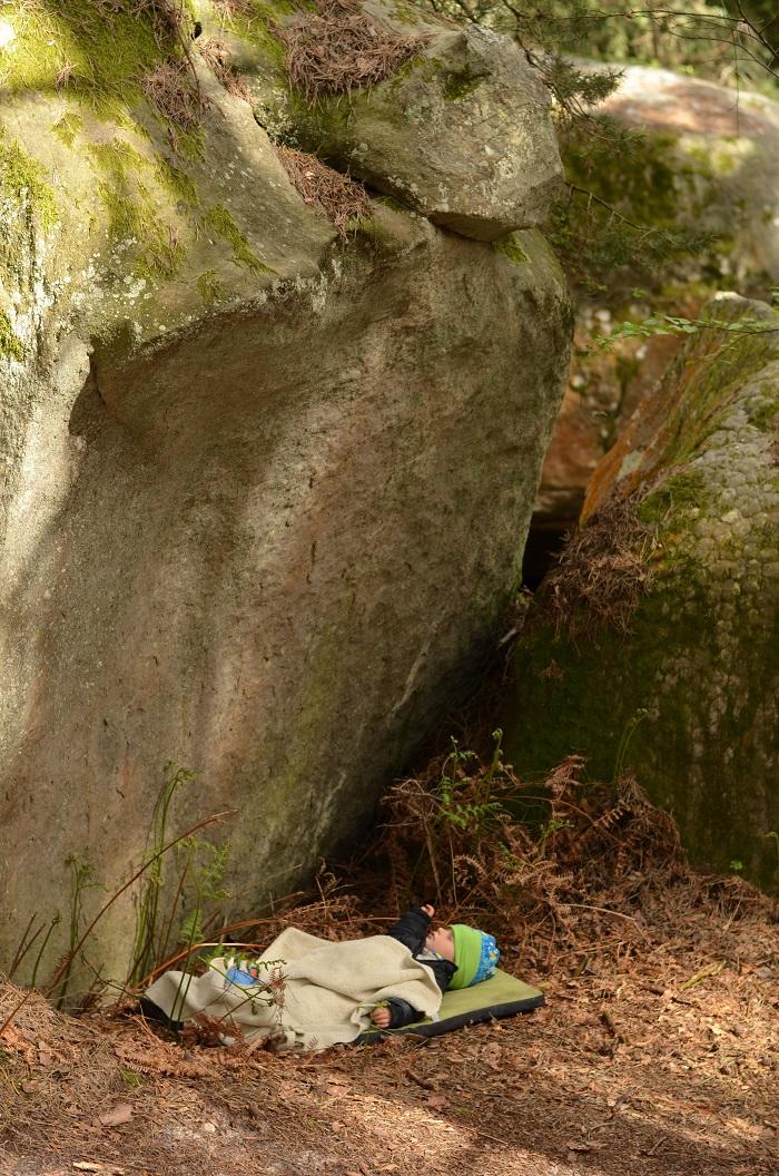 Teo a jeho deň na skalách (foto: Oli)