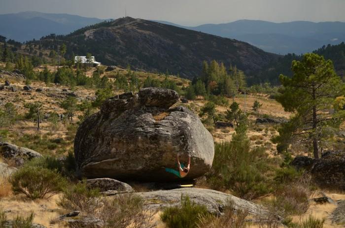 Pé de Deus 6C+, Pedra do Urso (foto: Aďa)