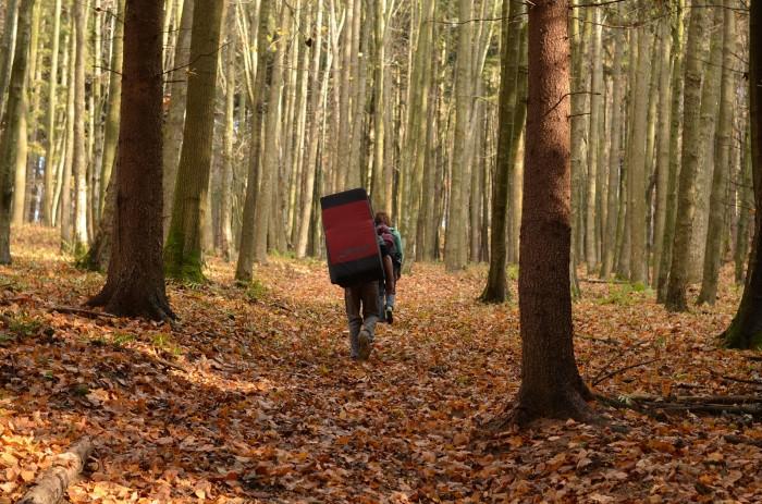 Cestou k jesenným bouldrom (foto: Oli)
