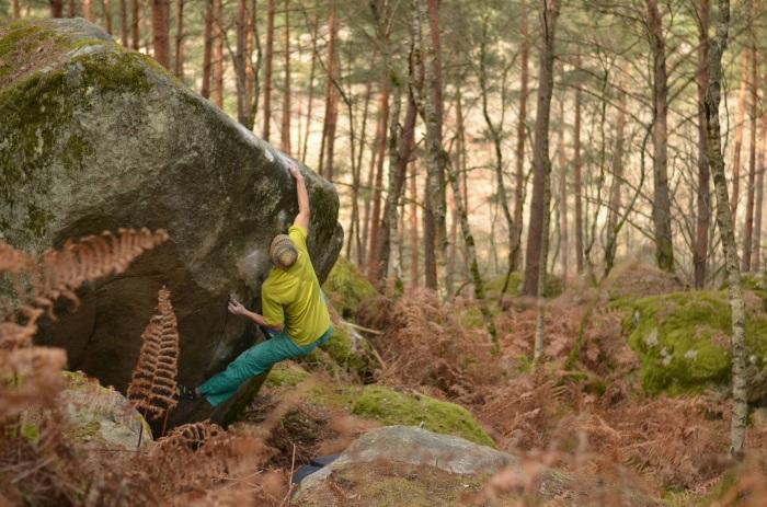 Karma Gai 7B+, Rocher du Mont Morillon (foto: Oli)