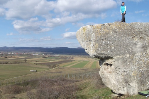 Bouldering na jediných skalkách v Burgenlande