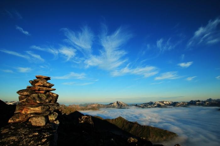 Pohľad z vrchola MATMORA 788 mnm