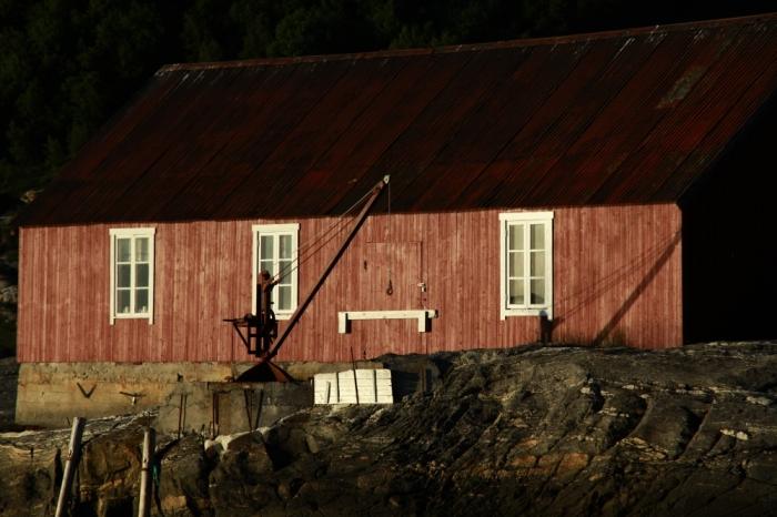 Rybársky domček pod bouldrami v Bodø