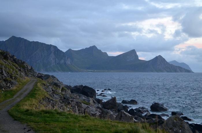 Uttakleiv, Vestvågøy (foto: Oli)