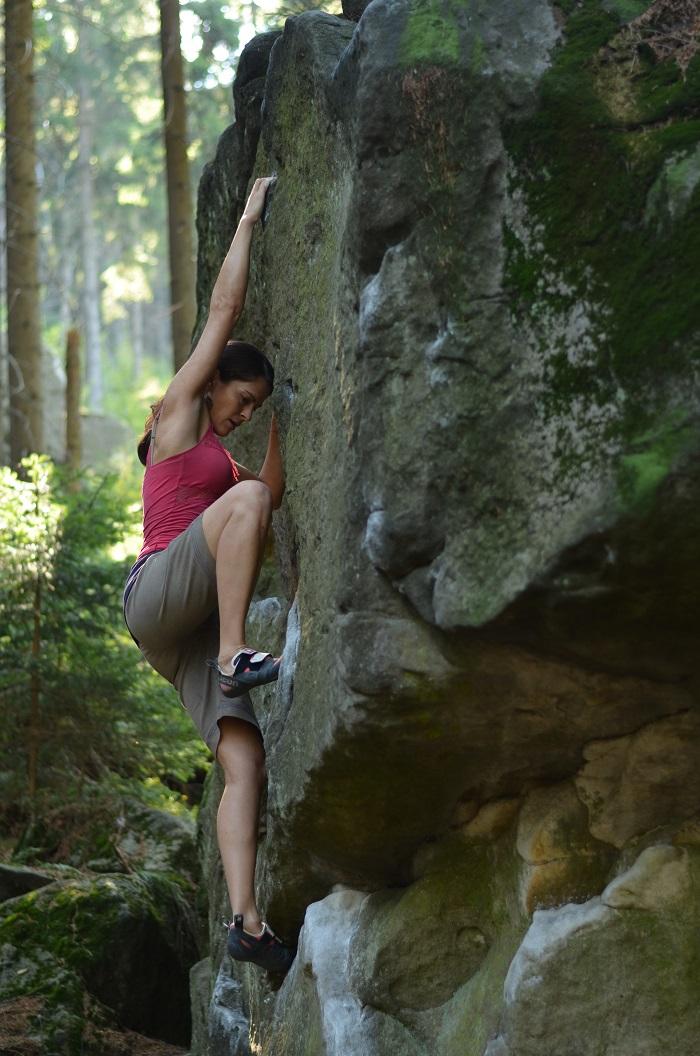 Easy boulder (foto: Oli)