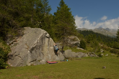 Bouldering v Alpách nemôže byť zlý