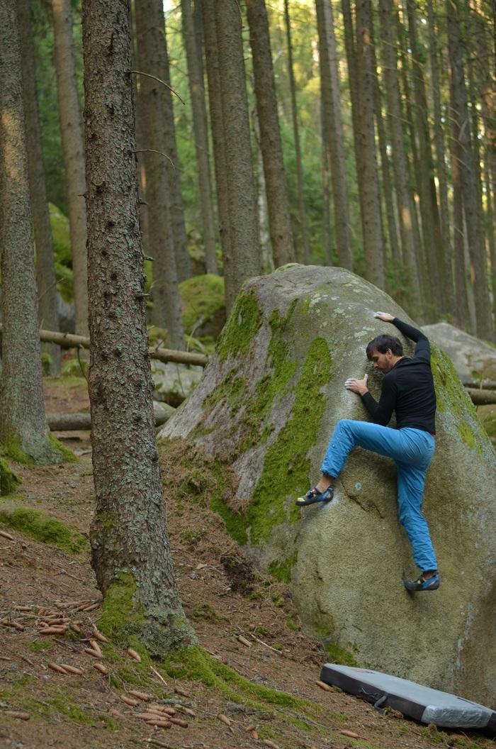 Toto nie je ten boulder, ale mohol by byť