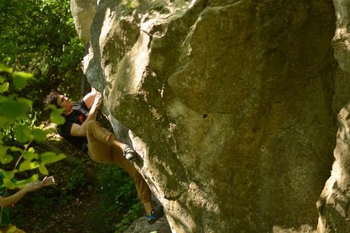 Bouldering pri Dobrej Vode