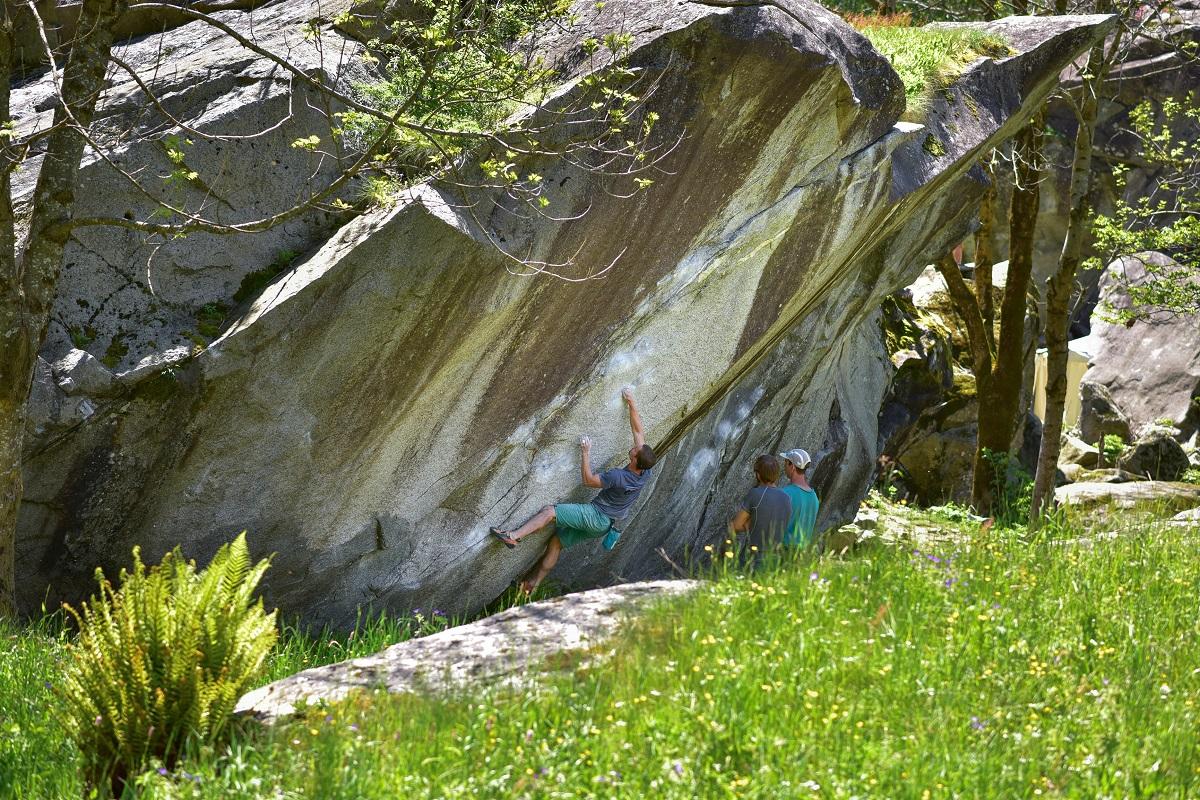 Il Sogno di Tarzan 7B, Val Masino (foto: Adam)