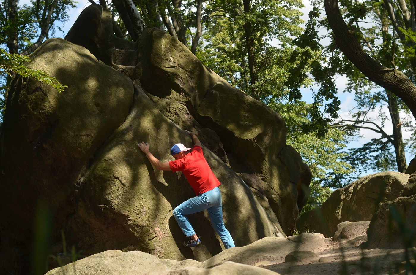 Bouldering Komínky