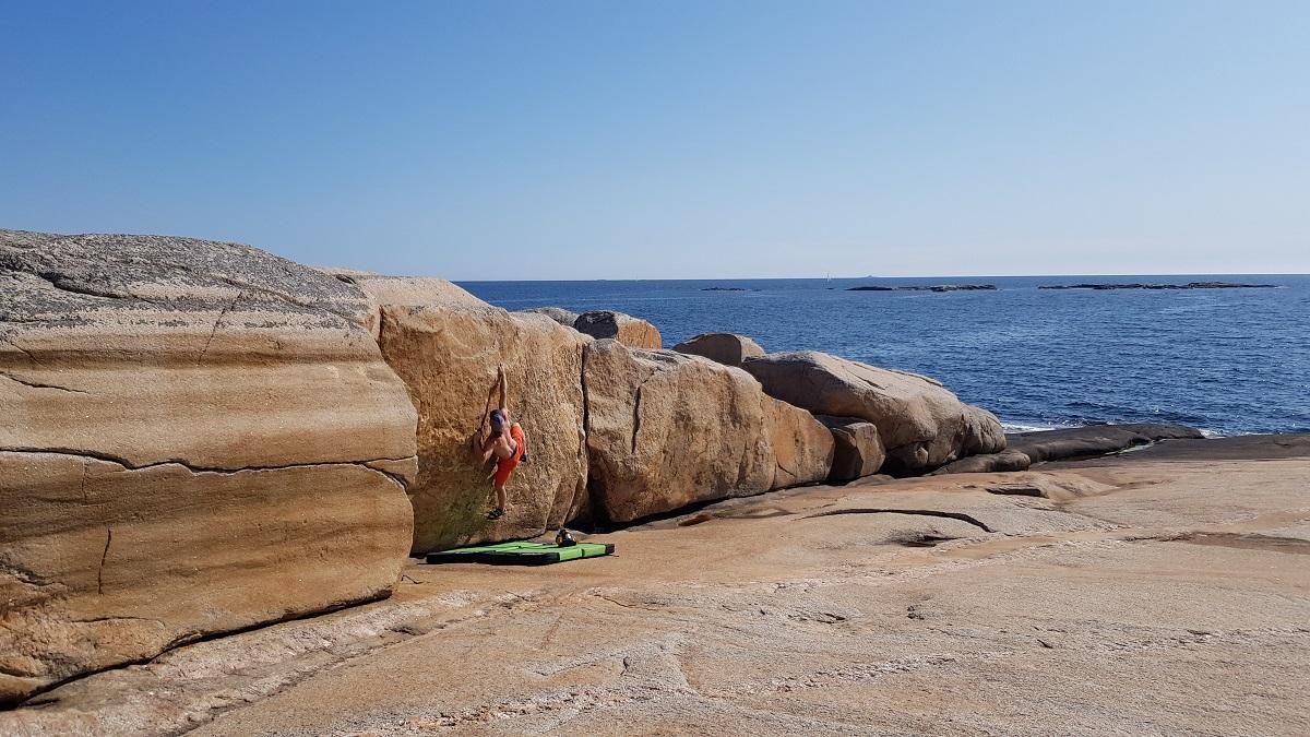Bouldering v Kuvauen