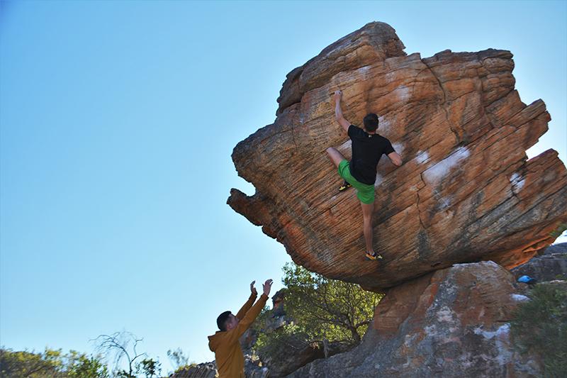 Bouldering v Rocklands