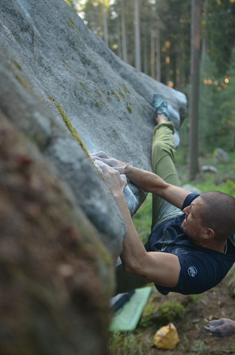 Bouldering Vyšší Brod