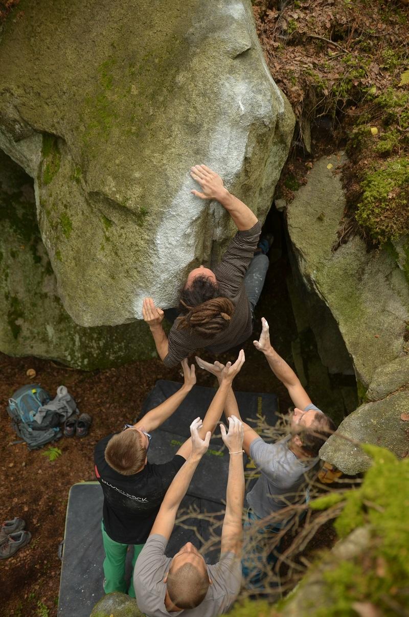Bouldering Loučovice