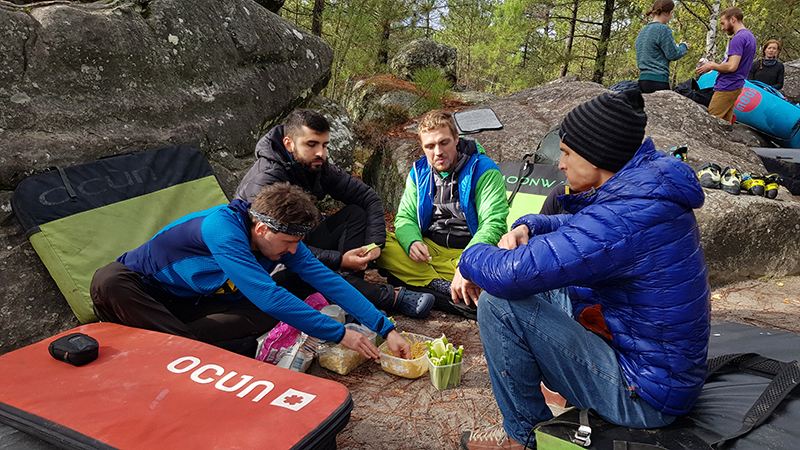 Bouldering vo Fontainebleau