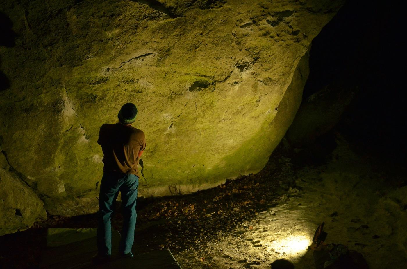bouldering v Chtelnici
