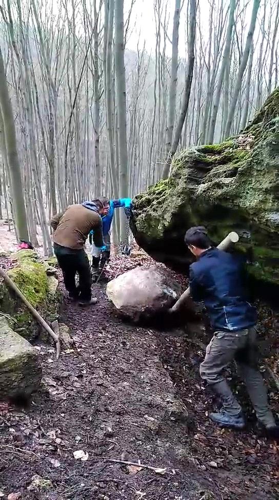 Rozbehy bouldering Dzýra