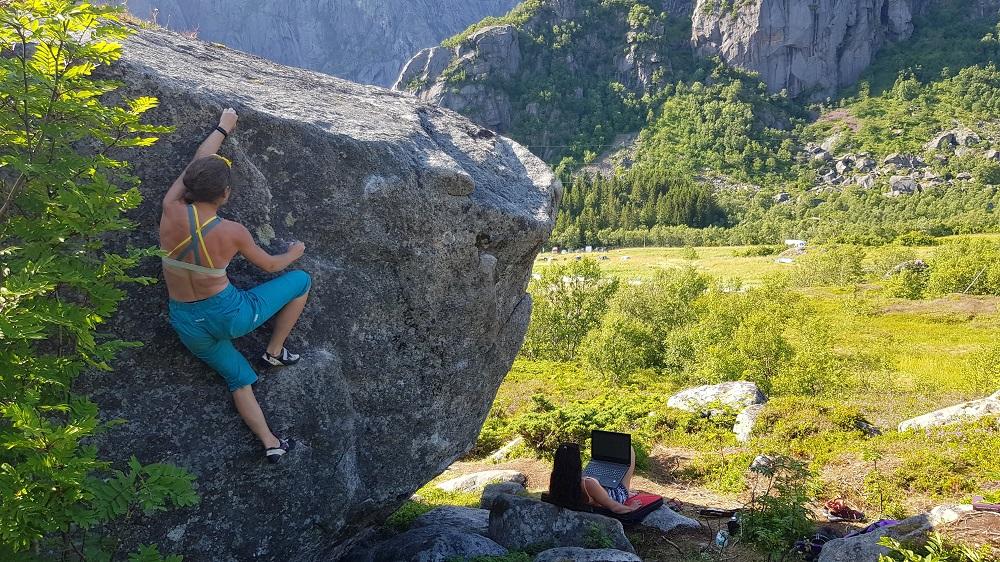Bouldering Lofoty