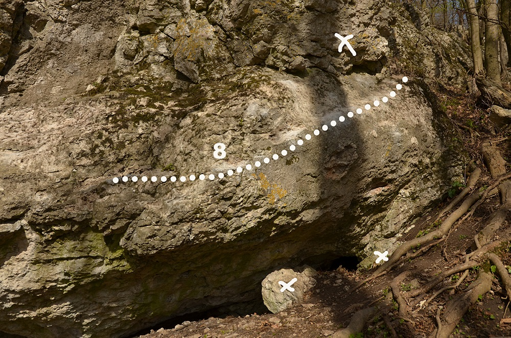 bouldering pod Báborskou