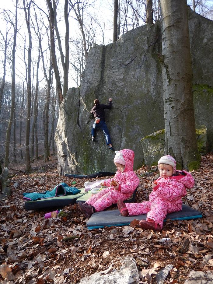 Bouldering Posvätná skala