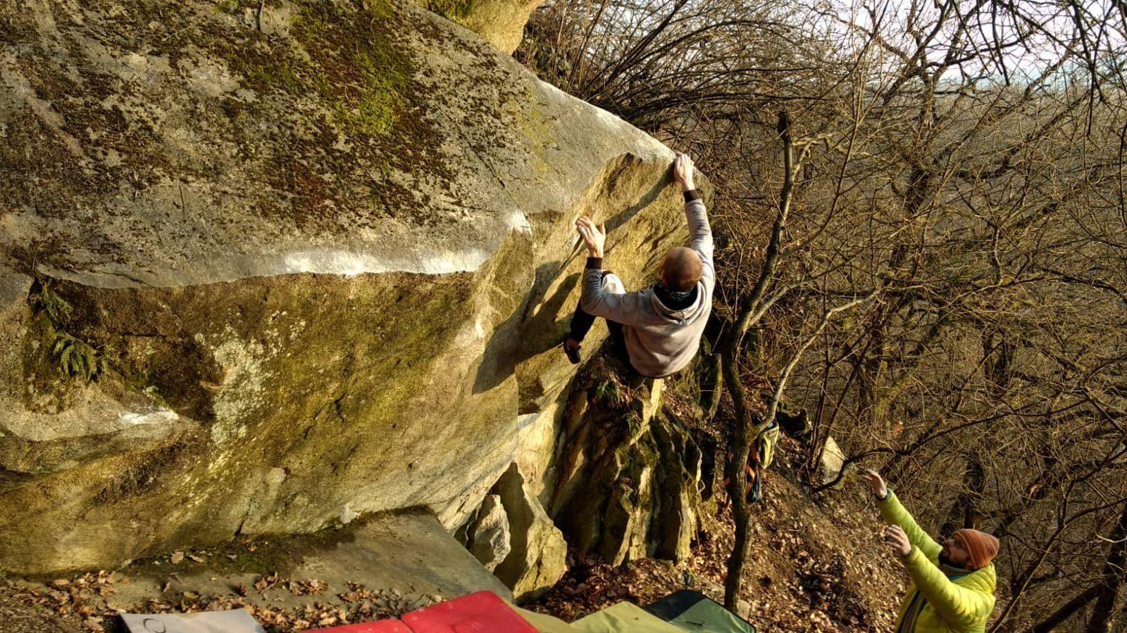 Bouldering Devínska cesta