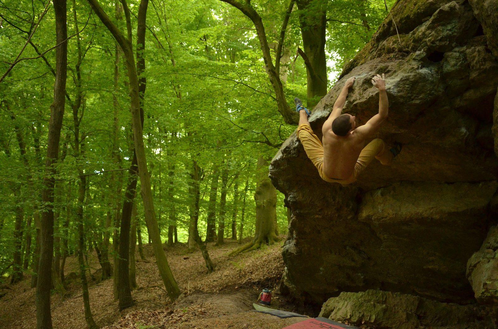 Bouldering na Píle