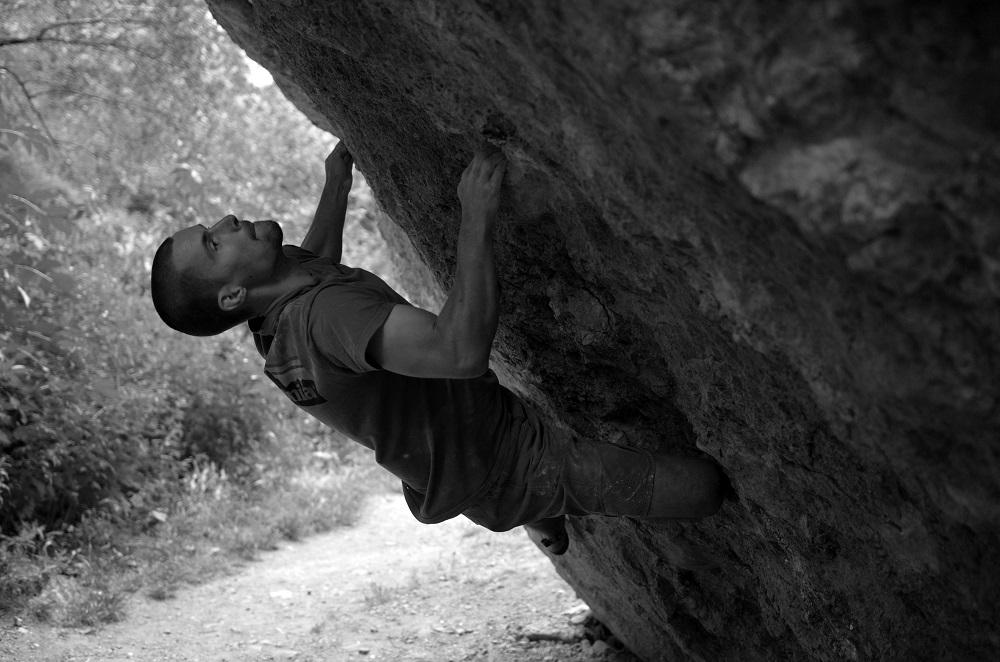bouldering v Bratislave