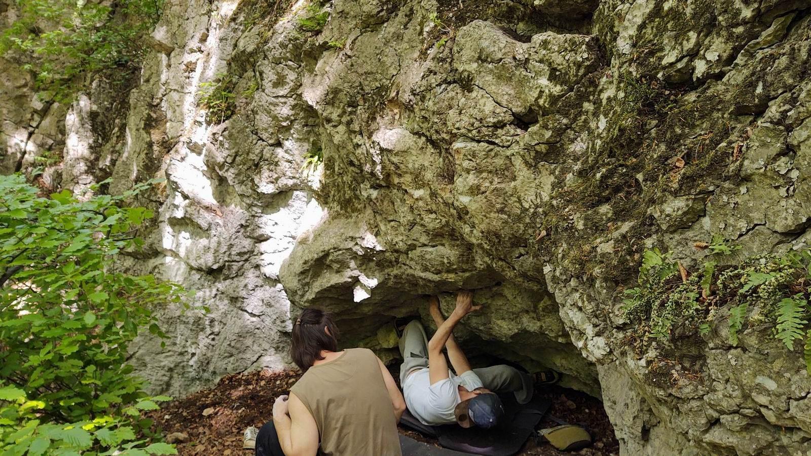 bouldering Kamenné