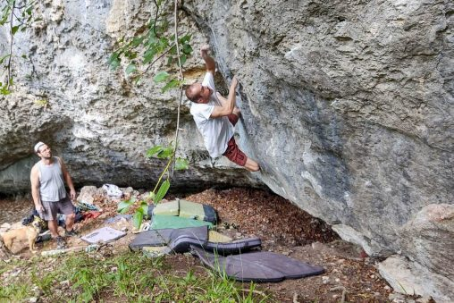 Bouldering na Kamennom