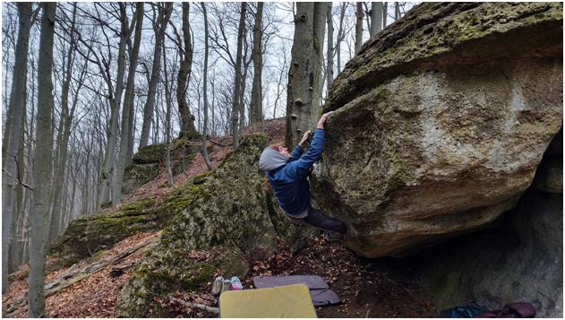 Biela hora bouldering