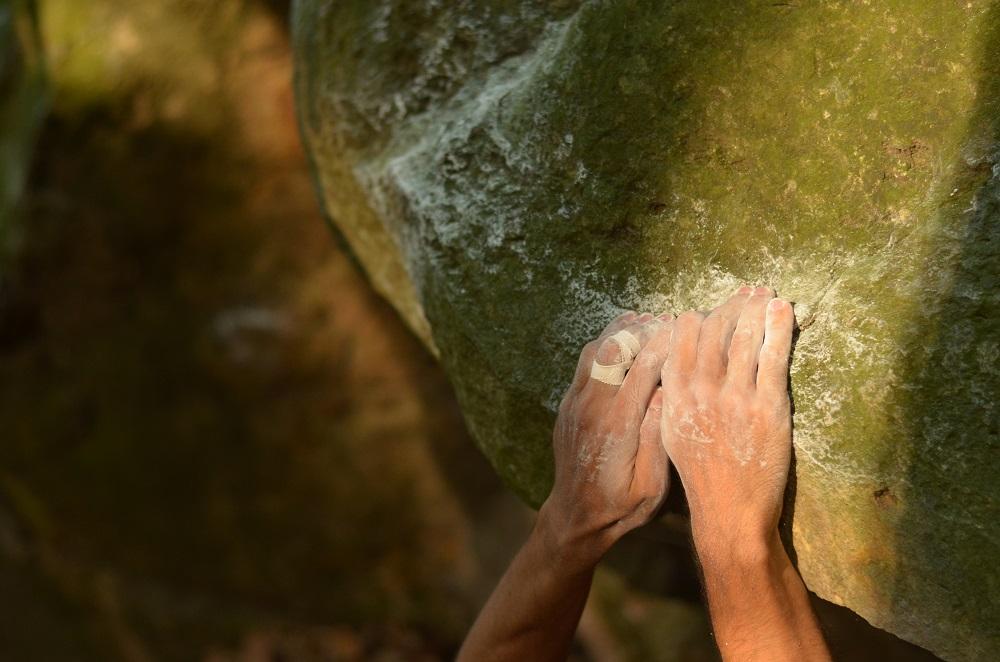 bouldering Červený Kameň