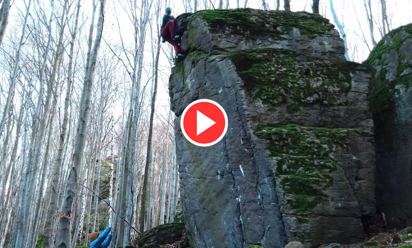 Končitá bouldering movie
