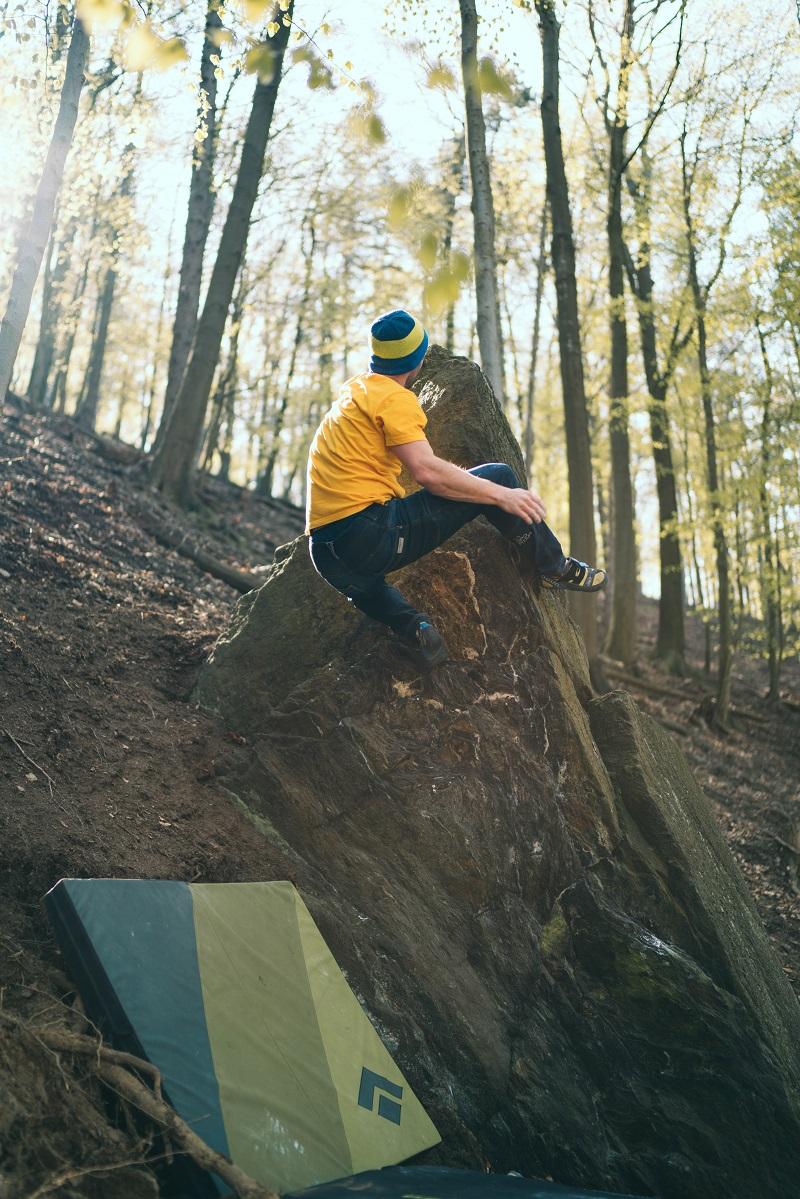 Slnečník boulder v Limbachu