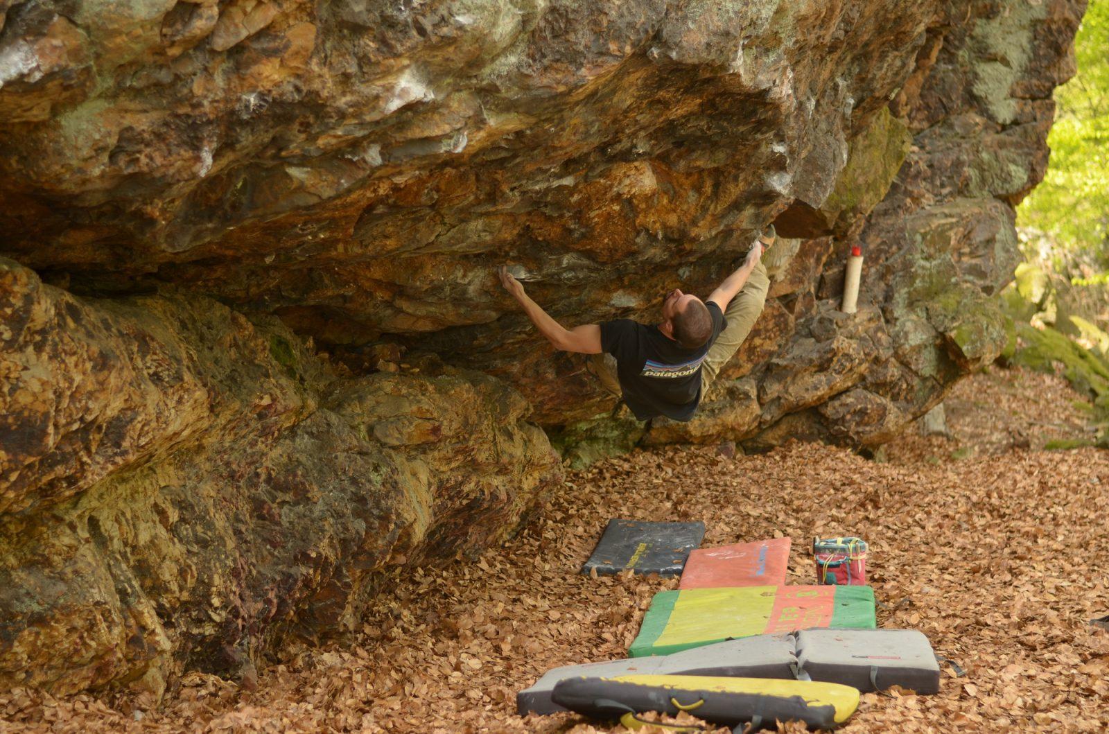 bouldering na Rybníčku