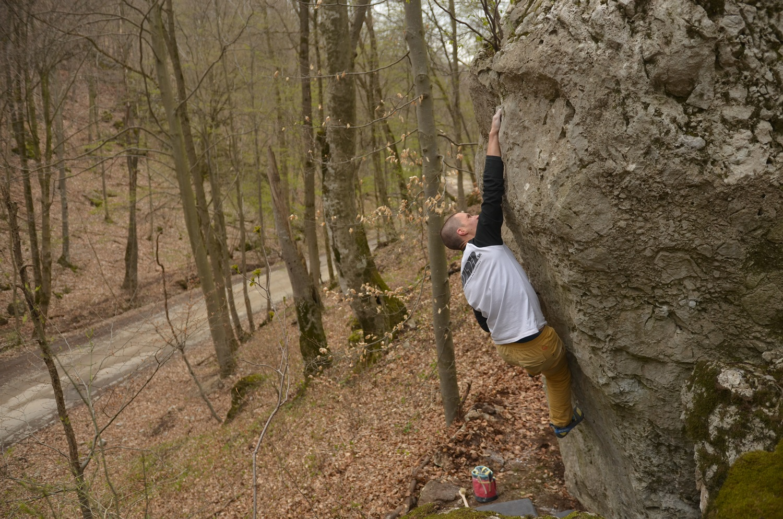 bouldering pri Rohožníku