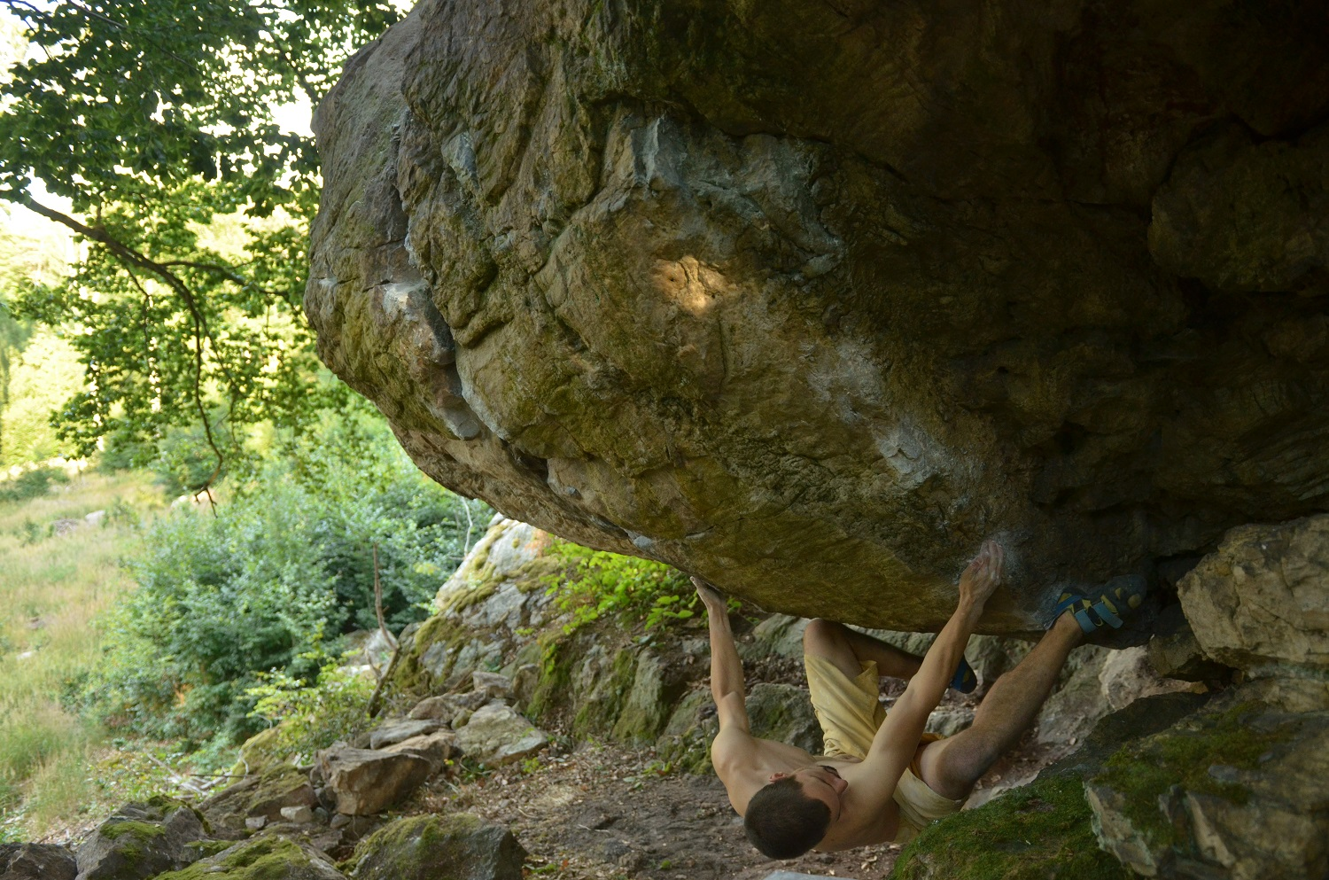Bouldering na Peprovci